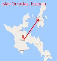 La islas Orcadas en Escocia