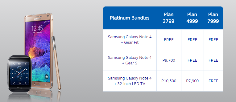 Samsung Galaxy Note 4 Philippines Postpaid Plans and Price  Geekschicksten