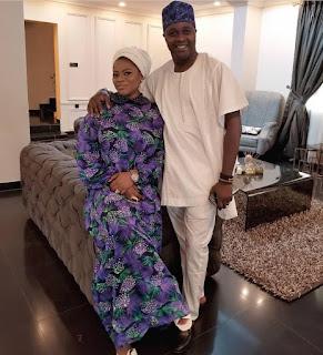 Femi Adebayo and wife Omotayo
