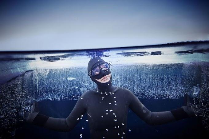 Megdőlt a jég alatti szabadmerülés világrekordja
