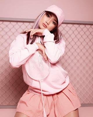 Jumper pink dan manis cewek manis Marion Jola