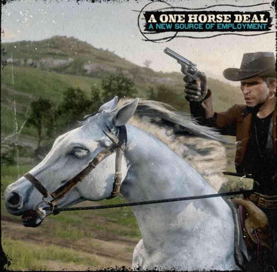 red dead online best horse