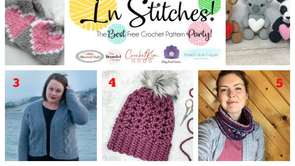 Top Best Free Crochet Pattern Round Up - In Stitches Link Up Party #30