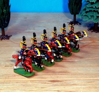 Hinton Hunt PN 89 Prussian Uhlan Lancers