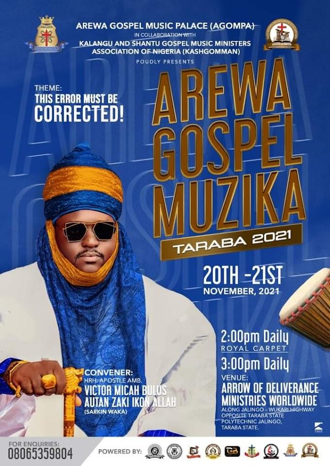 Arewa Gospel Muzika 2021: Names Of Music Ministers Set To Be Unveiled