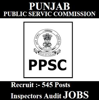 Punjab Public Service Commission, PPSC, Punjab, Inspector Audit, PSC, Graduation, freejobalert, Sarkari Naukri, Latest Jobs, ppsc logo