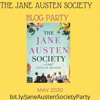 Jane Austen Blog Party graphic