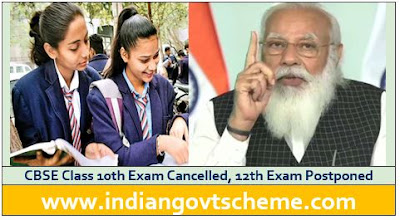 CBSE Class 10th Exam Cancelled, 12th Exam Postponed