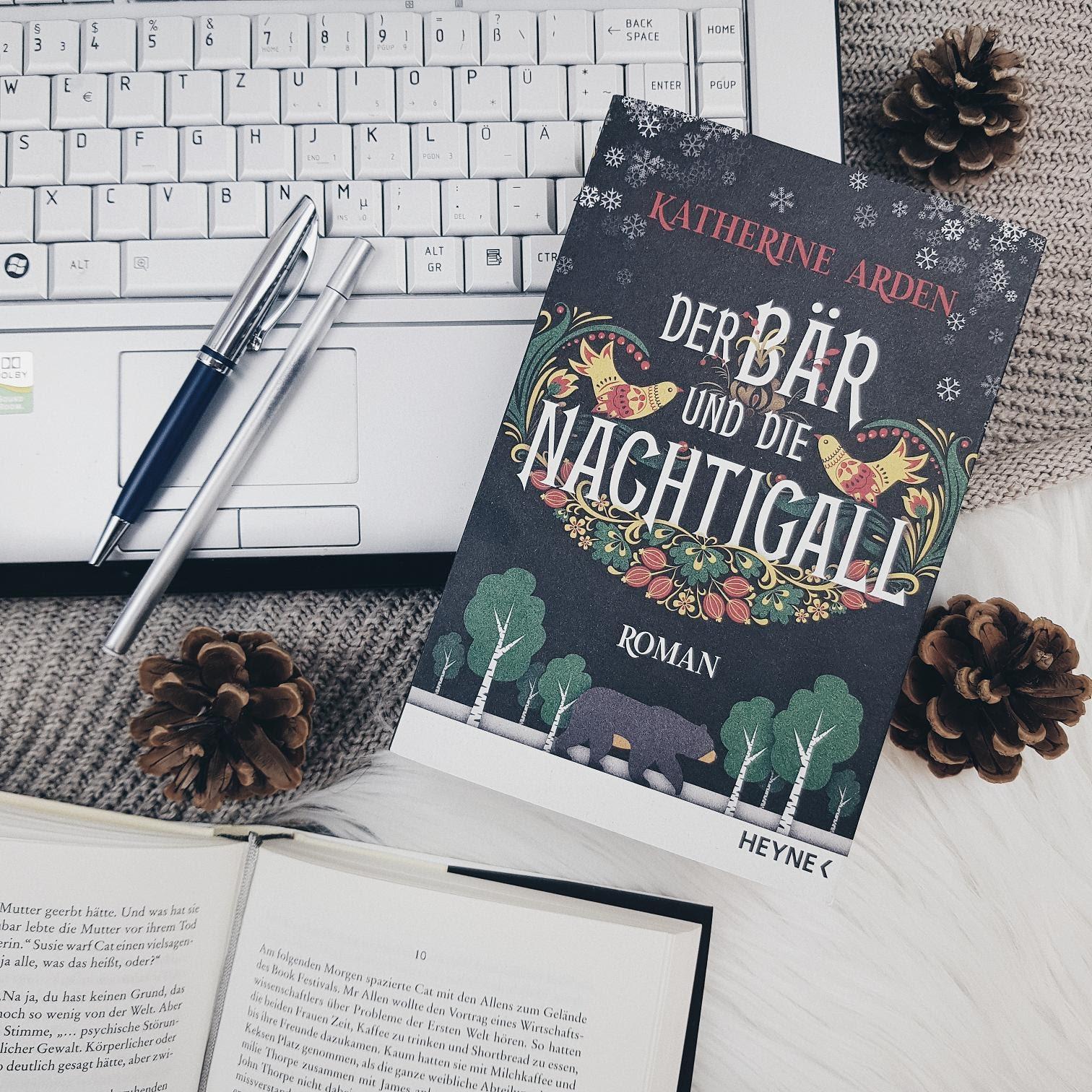 Bücherblog. Rezension. Buchcover. Der Bär und die Nachtigall (Band 1) von Katherine Arden. Fantasy. Historische Fantasy. Heyne. ©Lisa B. | Prettytigers Bücherregal | prettytigerbuch