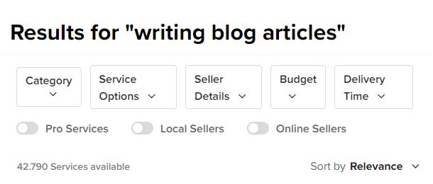 pesquisar redator