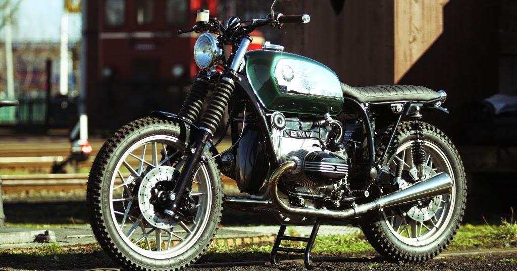 Racing Caf U00e8  Bmw R100 Rs By Hb Custom