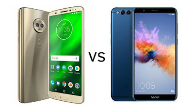 Moto G6 Plus vs Honor 7X