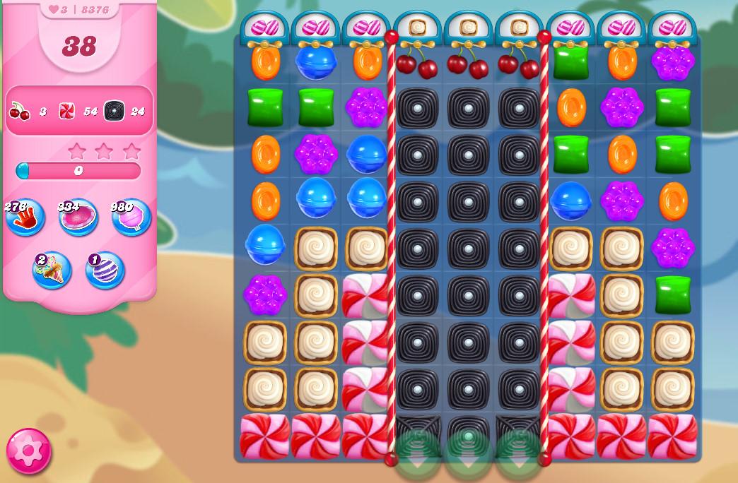 Candy Crush Saga level 8376