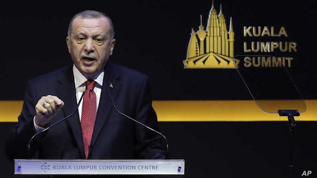 Erdogan Sebut DK PBB tak Lindungi Negara Muslim