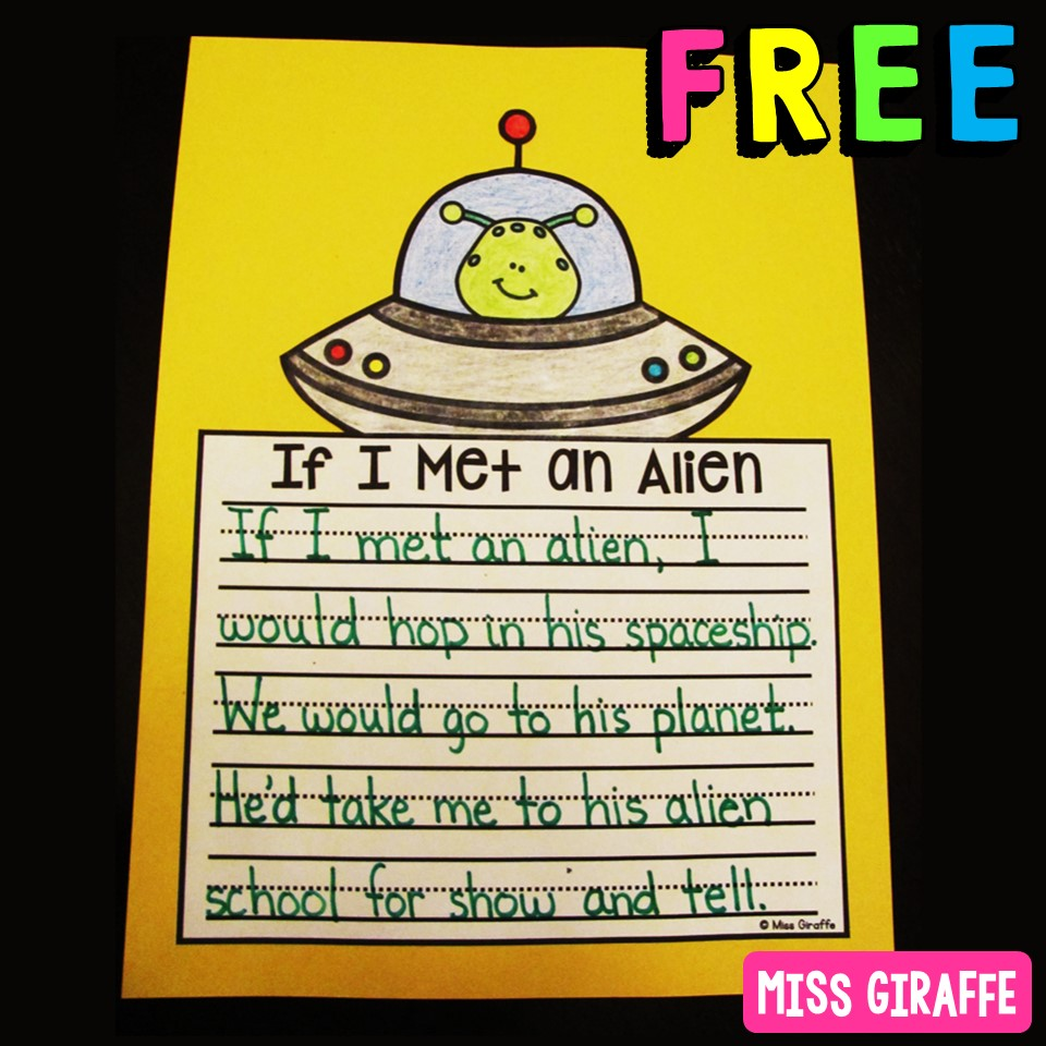 Miss Giraffe's Class: Free Kindergarten and First Grade Worksheets and  Activities [ 960 x 960 Pixel ]