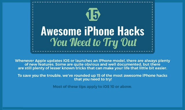 15 Awesome iPhone Hacks You Need To Try Out