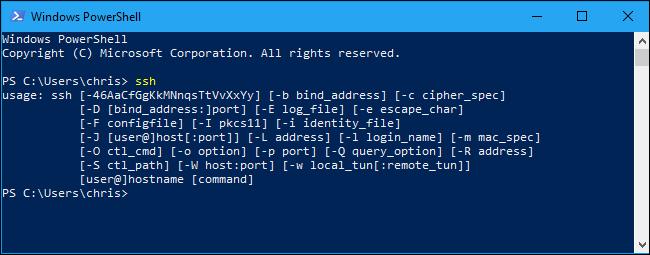 riavvio del PC per SSH