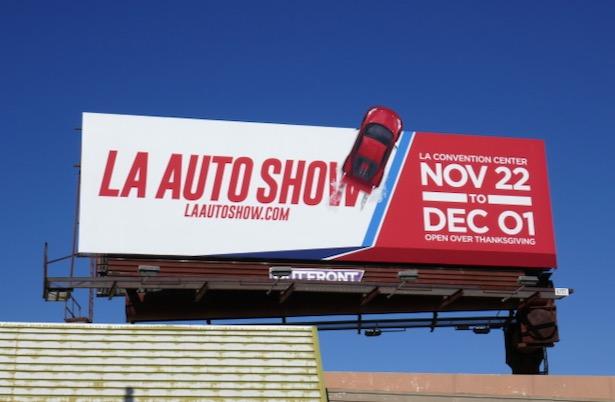 LA Auto Show 2019 billboard