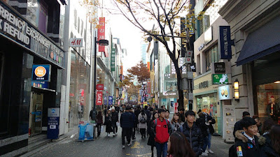 Tourist Places To Go In Korea Seoul - Myeong-dong