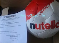 Logo In consegna i palloni Nutella