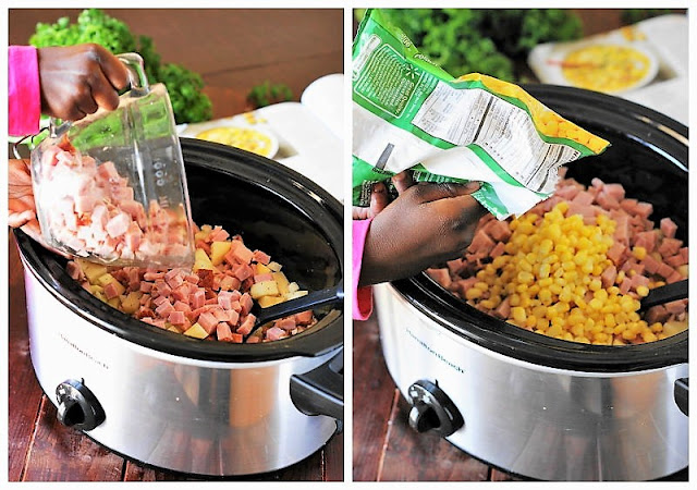 How to Make Slow Cooker Ham & Corn Chowder Image