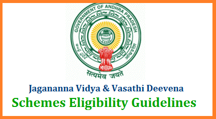 Jagananna Vidya Deevena and Jagananna Vasathi Deevena Guidelines and eligibility guidelines issued through GO MS No 115 Dated 30.11.2019. These AP Vidya Deevena and Vasathi Deevena Schemes have been introducing for the financial support to the SC ST BC Post Metric Students with following eligibility condictions. AP Government is going to introduce YSR Navasakam Fee Reimbursement Card for the Scheme. Fool free guidelines have been issued to implement and select the benefishieries for the Schemes of AP Jagananna Vidya Deevena and Jagananna Vasathi Deevena for the Financial year 2019-20