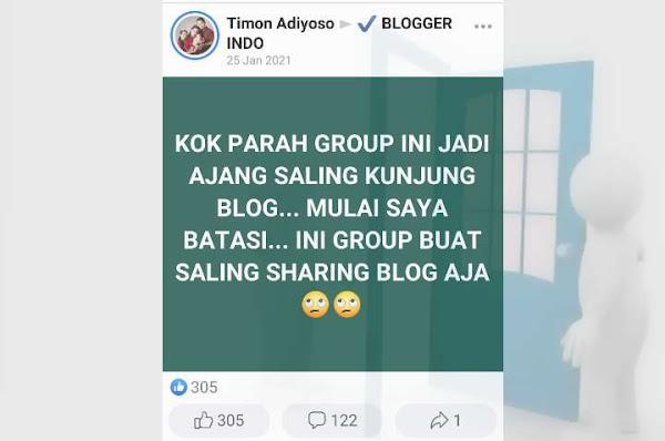 Ajang saling kunjung blog
