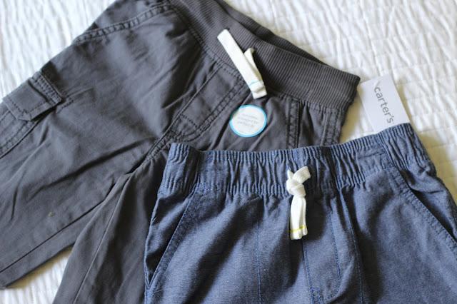 Kohl's Carters Back to School elastic waist pants