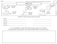 2 FREE Word Problem Worksheet