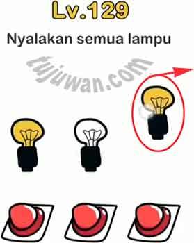 Nyalakan Semua Lampu Jawaban Brain Out di Level 129/128