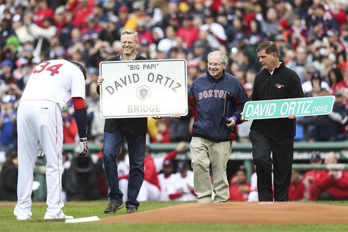 Renombrarán  en Boston calle y puente en honor  a David Ortiz