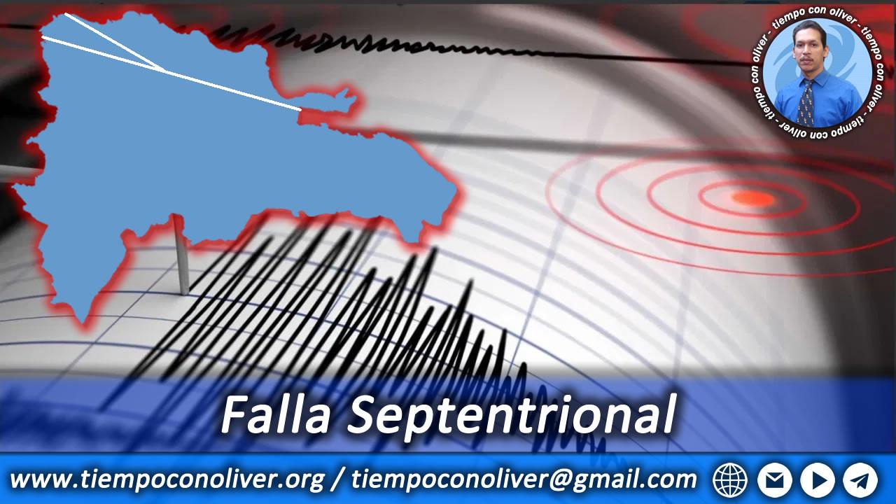 falla septentrional de republica dominicana