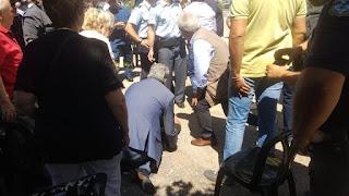 Ο Πολάκης έσωσε την ζωή ατόμου, σε εκδήλωση στα Σφακιά (Photos)