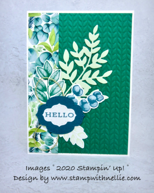 Nigezza Creates With Stampin' Up! & Friends in The Project Share June 4th 2020