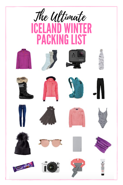 Ultimate Iceland winter packing list