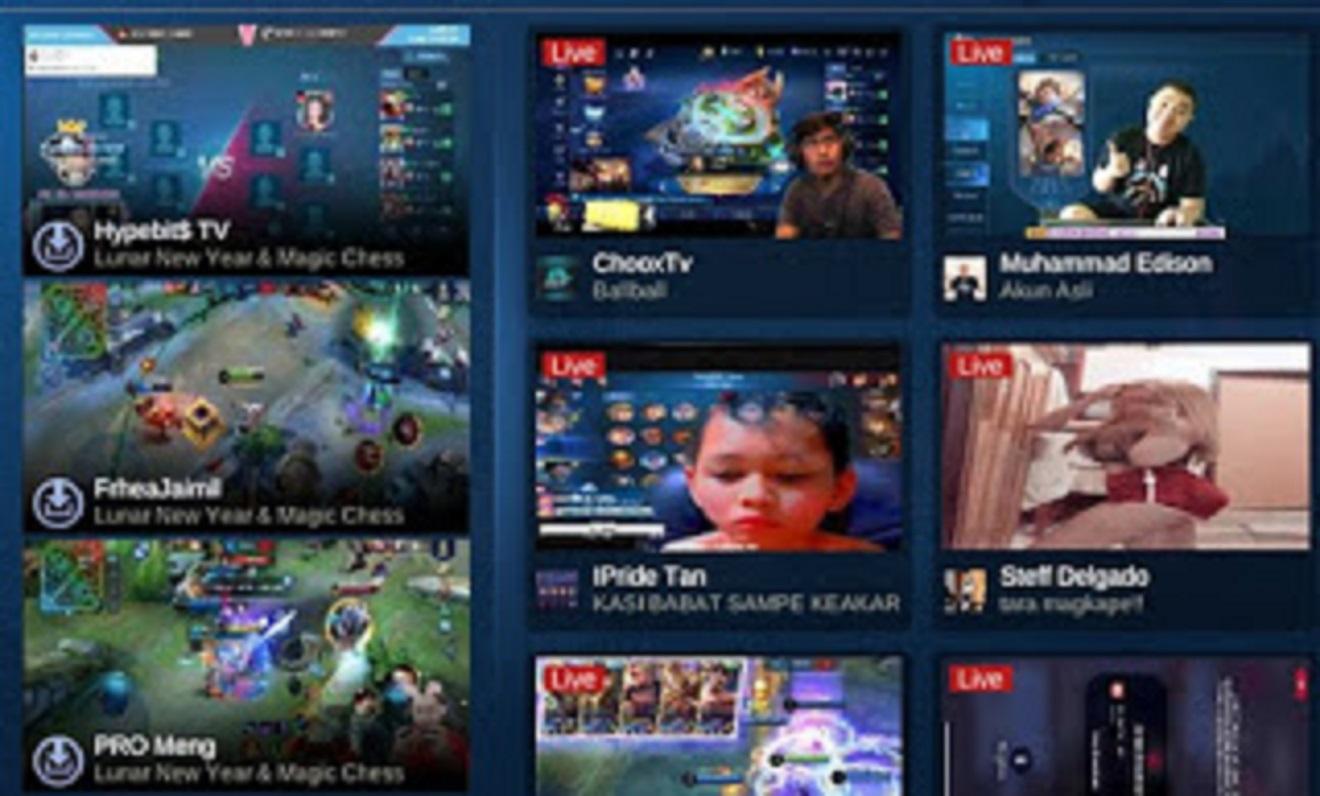 cara live streaming mobile legends di fb