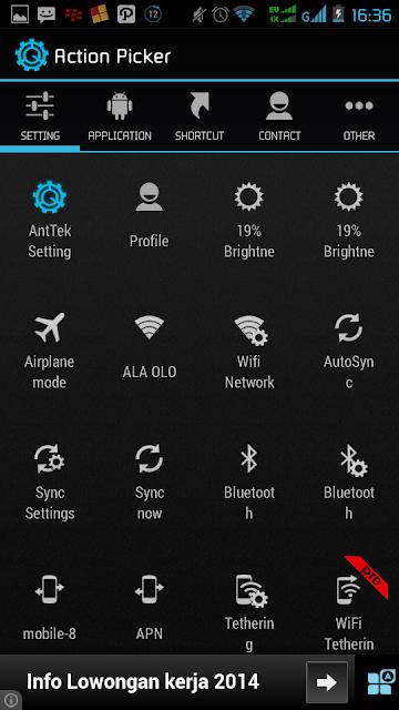 Cara mudah Merubah Tampilan Panel Notifikasi StatusBar Android