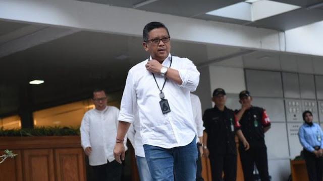 Polisis Diperiksa Pelapor Hasto Kristiyanto Diperiksa Soal Ujaran Kebencian