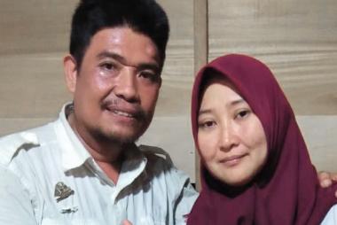 Nur Asiah Karim ; Istri Kades Yang Terpilih Menjadi Kades