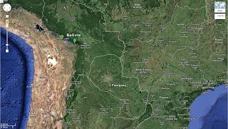 Trajeto de Comarapa/Bolívia a Quillacollo/Bolívia - 320 km.