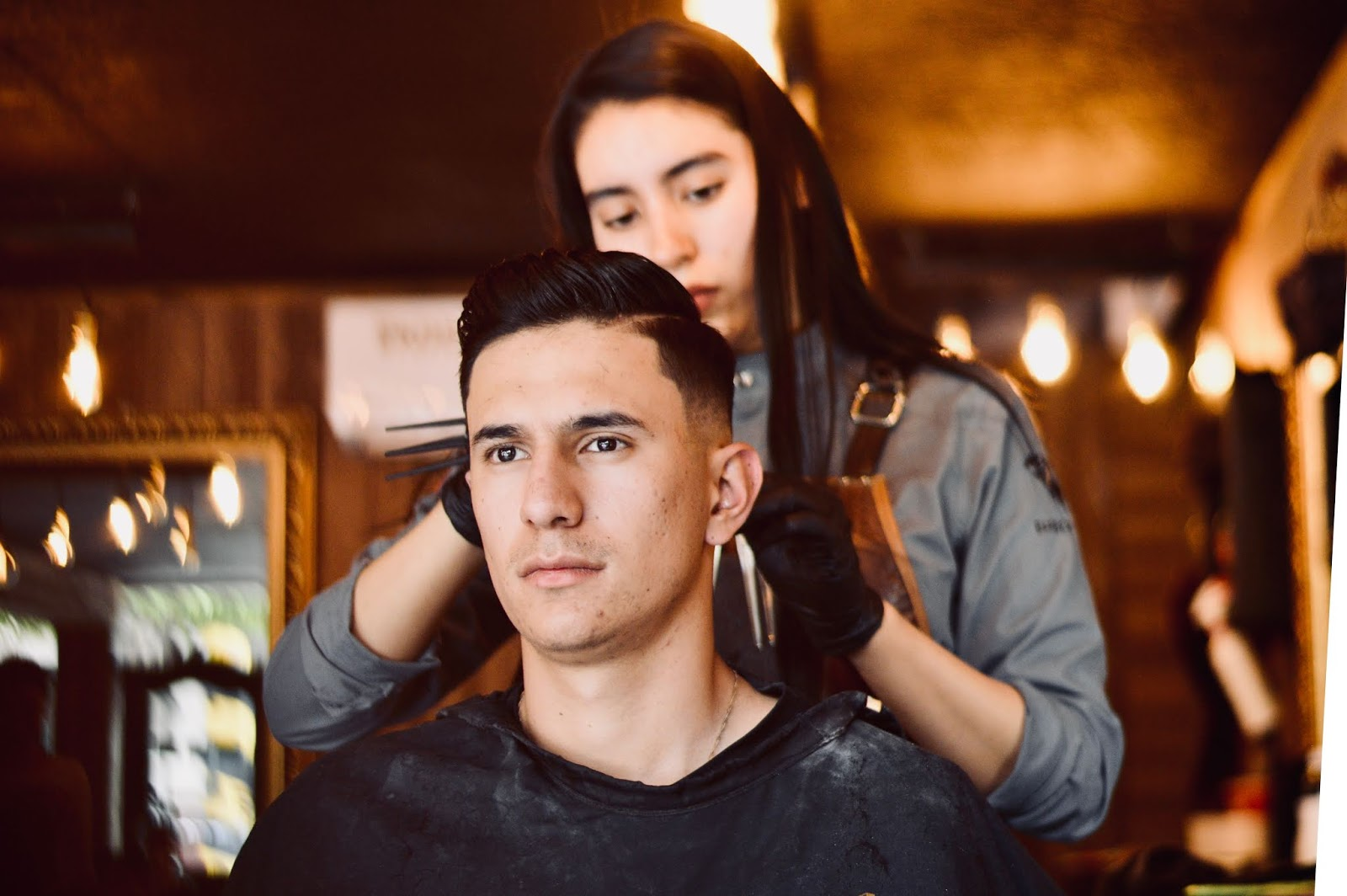 Barber Life Pompadour Krótka Lekcja Historii
