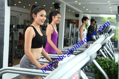 Phòng tập Gym tại căn hộ The Eastern quận 9
