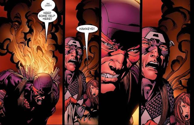 Avengers Disassembled, Cerita Bubarnya Avengers - Bagian 2