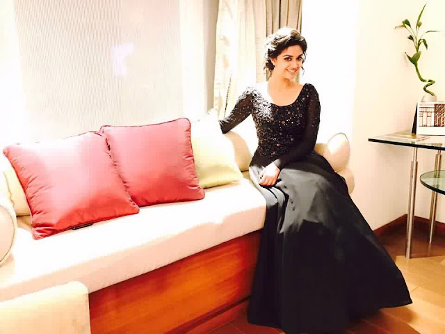 Keerthy Suresh In Black Beauty