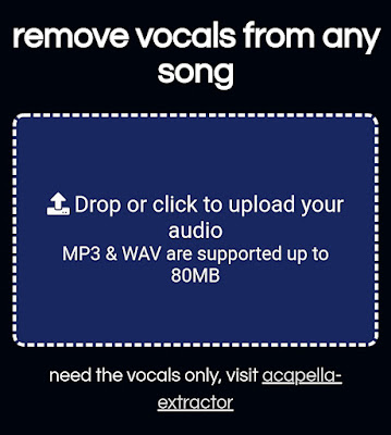 Menghilangkan suara vokal musik