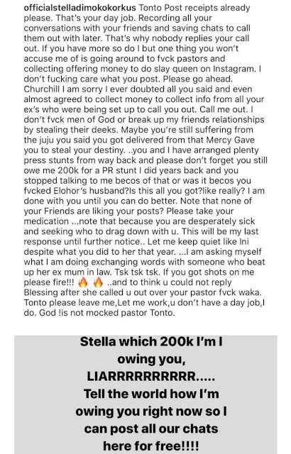 You ate poo in Dubai – Stella Dimokorkus slams Tonto Dikeh