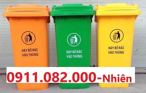 Hậu Giang-Nơi bỏ sỉ thùng rác giá rẻ- thùng rác công cộng siêu rẻ- 0911.082.000