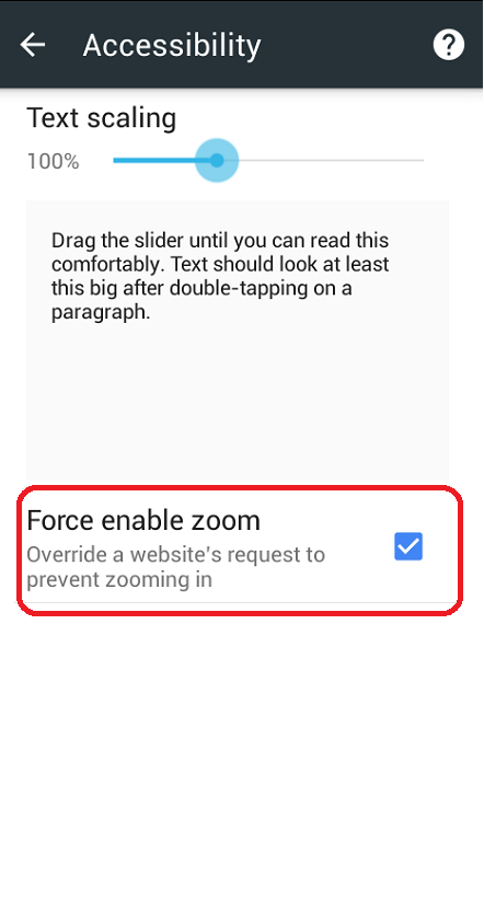 Learn New Things: How to Enable Force Zoom Websites in