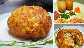 แจกสูตร ไข่เจียวซาลาเปา ไข่สอดไส้เนื้อฟูฟ่อง ทำง่ายๆ น่าทาน