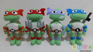 Locação Bonecos Tartarugas Ninja Porto Alegre